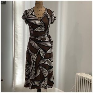 New York & Co wrap dress size M